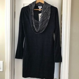 Soft Surroundings Cowl Neck Tunic Sweater L NWT